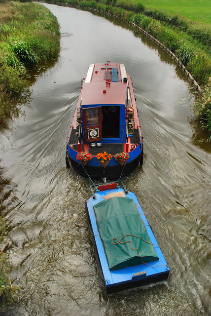 Lancaster Canal - towing