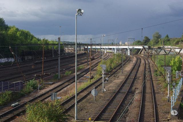 East Coast Main Line - Harringay