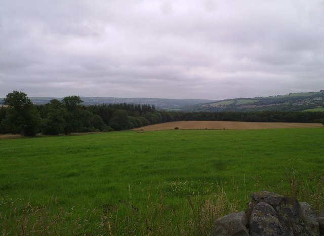 View NE from Hill Top