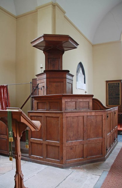 St Mary, Bylaugh - Pulpit