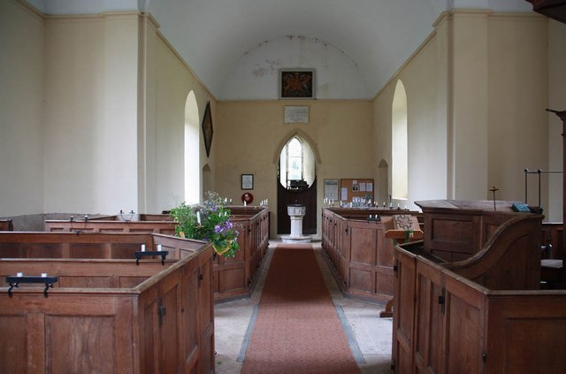 St Mary, Bylaugh - West end