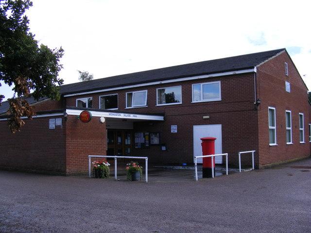 Wenhaston Village Hall & Post Office & Post Office The Street Postbox