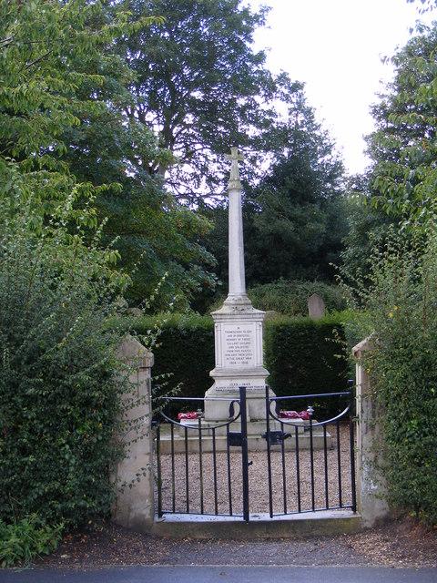 Wenhaston War Memorial