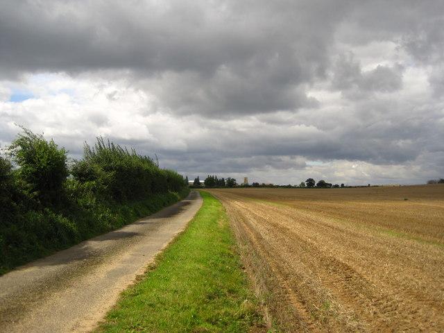 Track to Wantisden Church