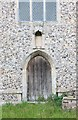 TG0719 : St Mary, Sparham - Doorway by John Salmon