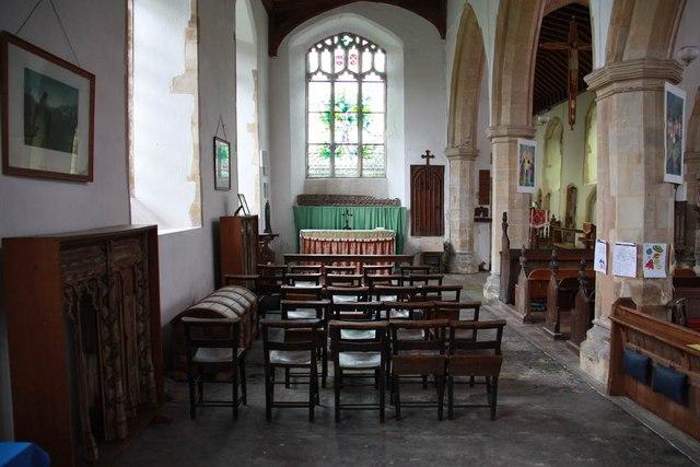 St Mary, Sparham - North chapel