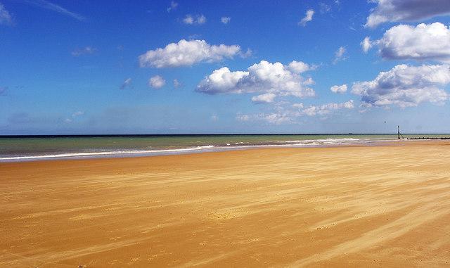 Low tide at Cromer Beach