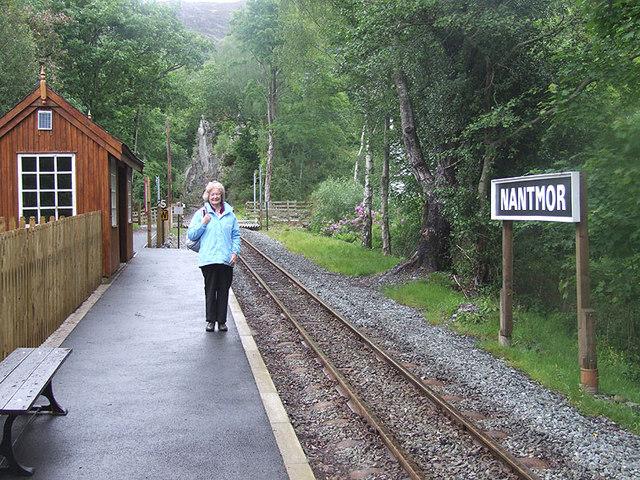Nantmor Halt, Welsh Highland Railway