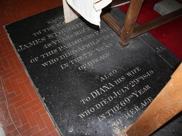 St Mary, Sparham - Ledger slab