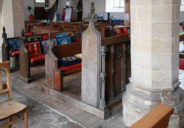 St Mary, Sparham - Pews