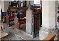 TG0719 : St Mary, Sparham - Pews by John Salmon