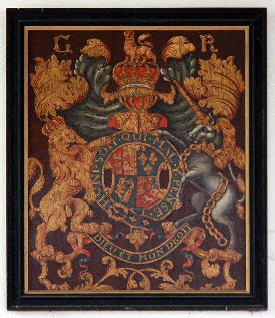 St Mary, Sparham - Royal Arms