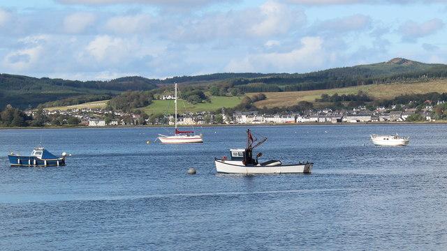 Lochgilphead from Ardrishaig