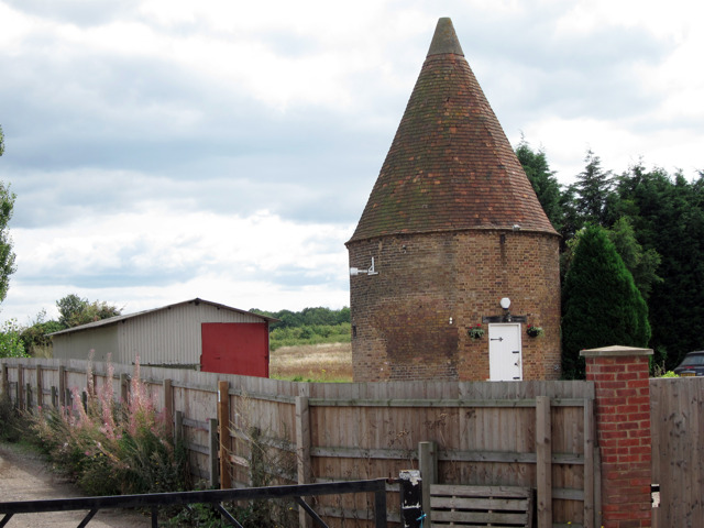 Oast at Hockenden House, Hockenden Lane