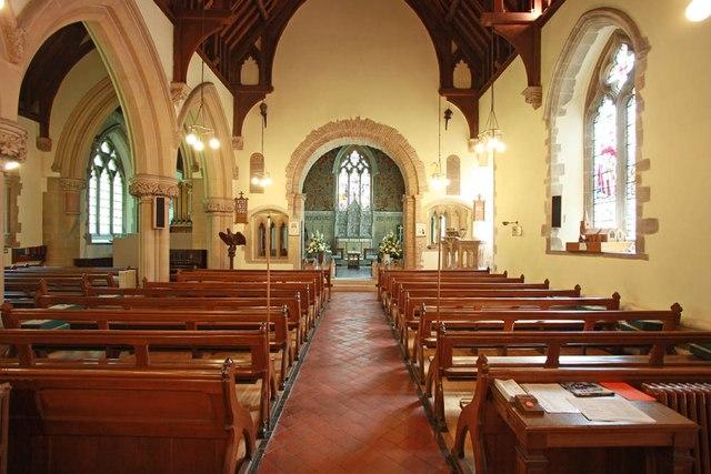 St Giles, Great Hallingbury - East end