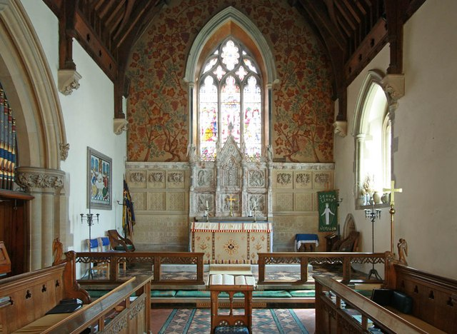 St Giles, Great Hallingbury - Chancel