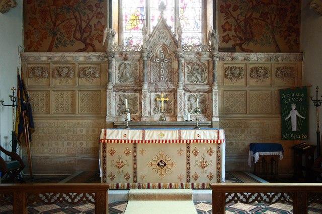 St Giles, Great Hallingbury - Sanctuary