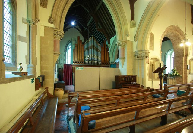 St Giles, Great Hallingbury - Interior