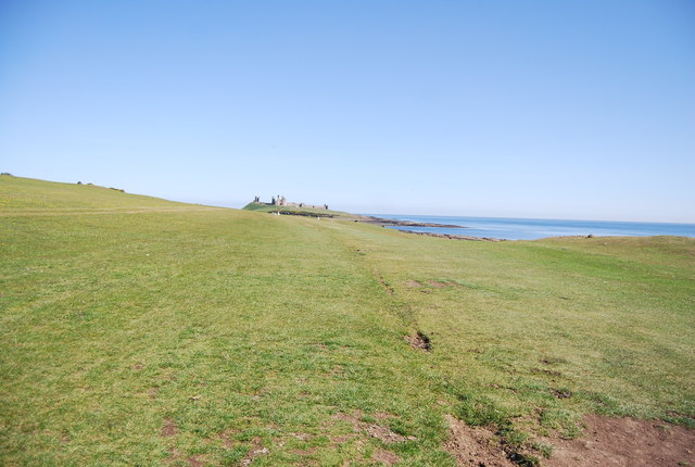 Northumberland Coast Path to Dunstanburgh Castle