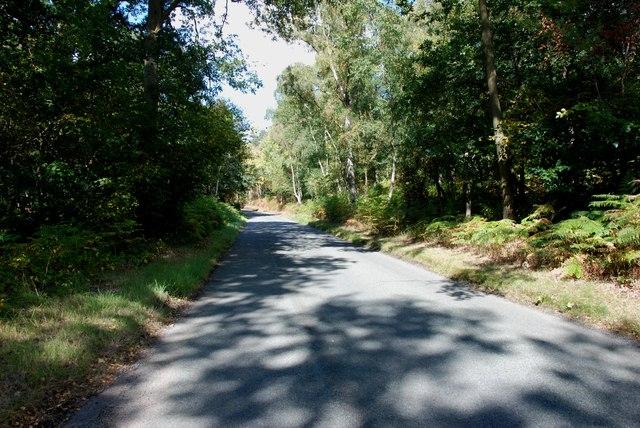 Kingsford Lane Heading towards Kinver