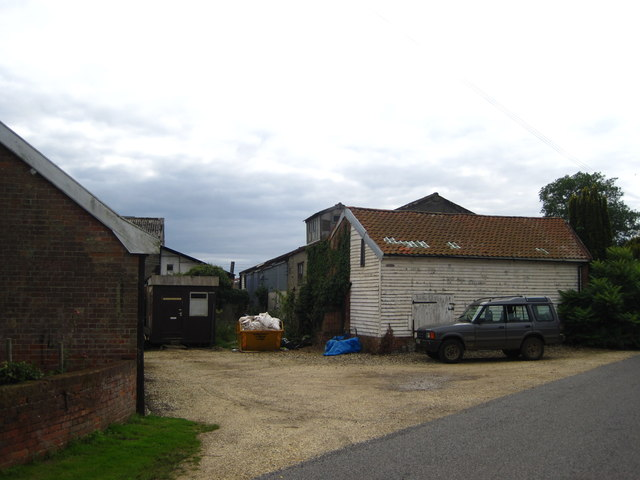 Sheds and workshops at Butley Mills