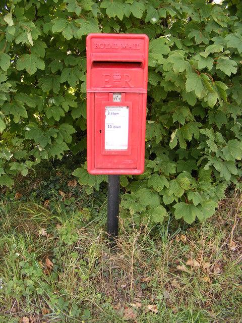 Barley Green Postbox
