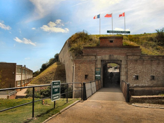Entrance to Newhaven Fort