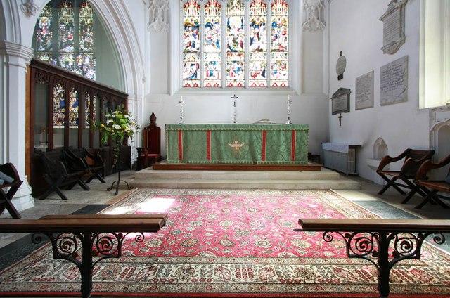 St Michael, Bishops Stortford - Sanctuary
