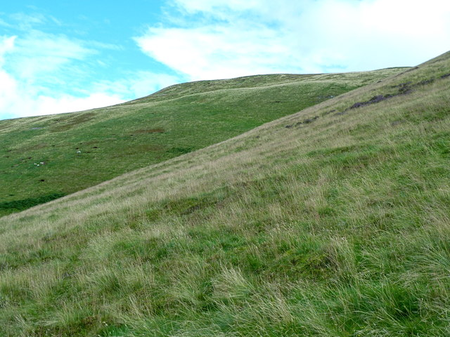 Southwestern slopes of Turnhouse Hill, Pentlands