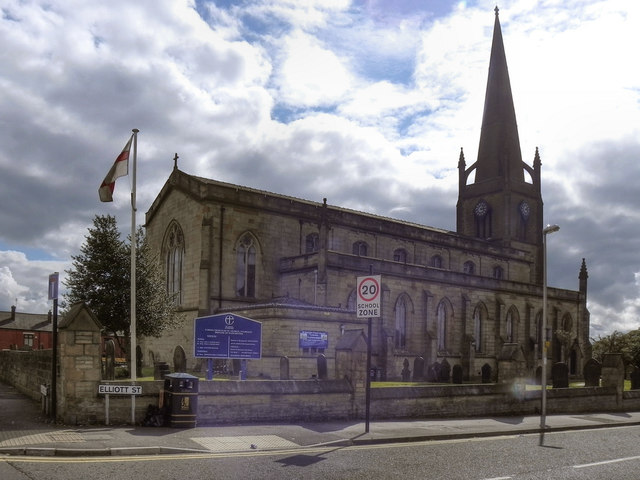 St George's  Parish Church, Tyldesley