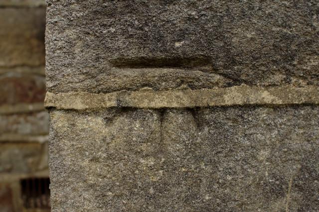 Cut Bench Mark, St Andrew's Church