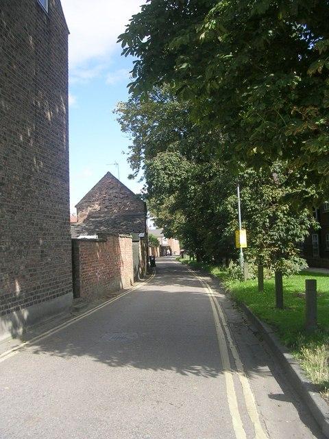 Bull Lane - Lawrence Street
