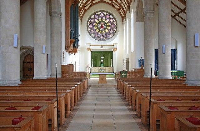 All Saints, Hockerill - East end