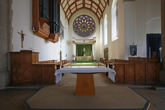 All Saints, Hockerill - Chancel