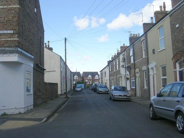 Arthur Street - viewed from Nicholas Street