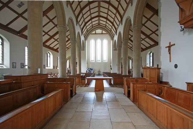 All Saints, Hockerill - West end