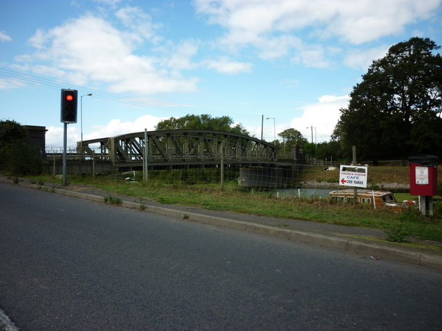 Langrick Bridge over the River Witham
