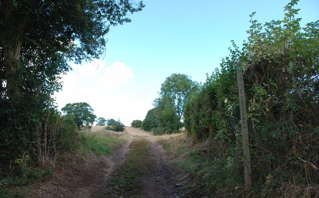 Public Footpath to Compton