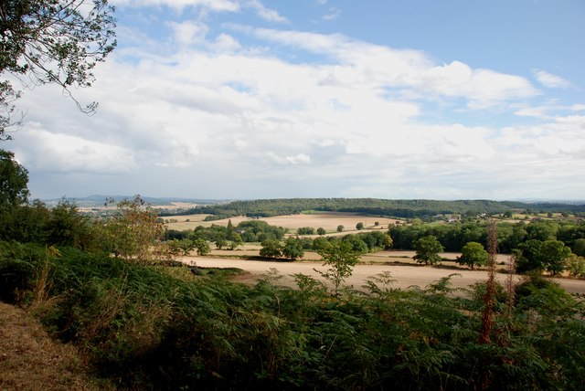 View over Union Hall Farm from the Sheepwalks