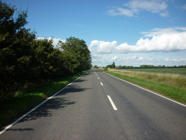 Heading north along the B1192 towards New York