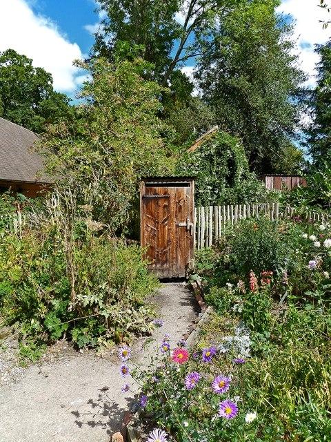Privy in the Garden, Acton Scott Historic Farm