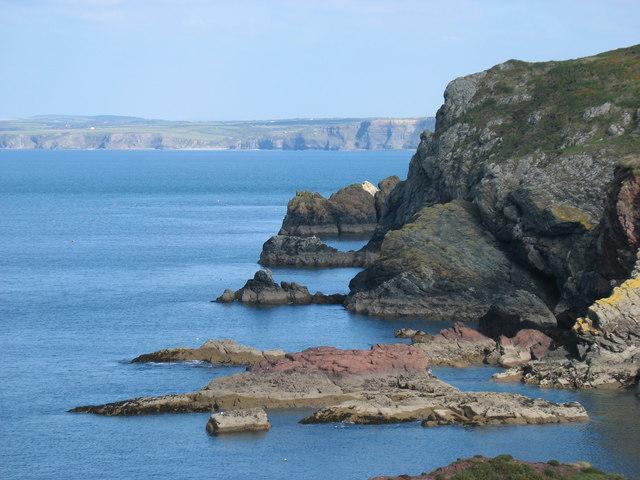 Pembrokeshire coast near Mill Haven