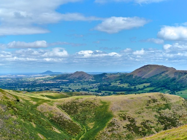 View from the Burway, Long Mynd, nr. Church Stretton