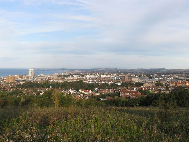 View from Whitehawk Hill