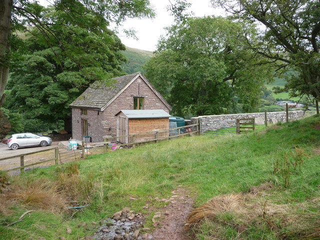 Barn conversion in the Llanthony Valley