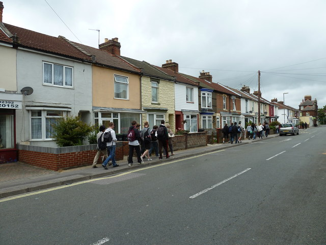 Foreign exchange students in Whitworth Road