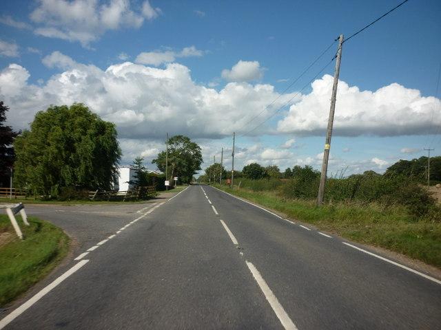 Langrick Road at Reedham Lane