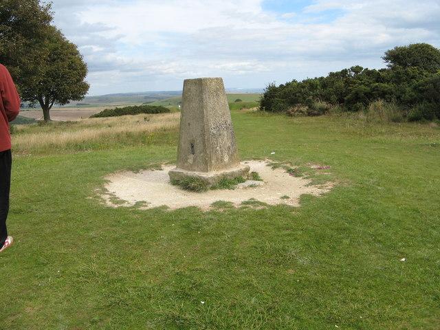 Trig Point at Cissbury Ring