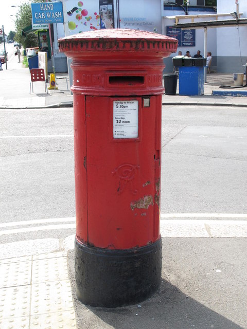 Victorian postbox, Claremont Road / Brent Terrace, NW2