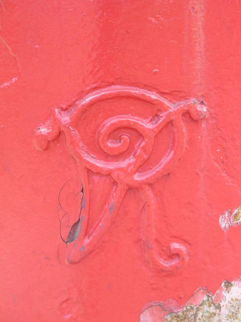 Victorian postbox, Claremont Road / Brent Terrace, NW2 - royal cipher